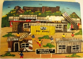 Township Art Painting #006