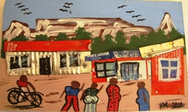 Township Art Painting #009