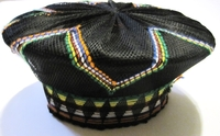 Traditional Zulu Hat - Rainbow