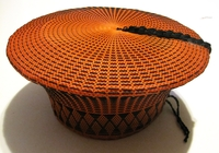 Traditional Zulu Hat - Ochre
