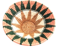 Handwoven Lutindzi Basket from Swaziland - Acacia - M