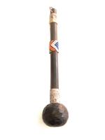 Beaded Zulu knobkerrie - Medium