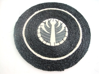 Ceramic and grasswoven Placemat - Swazi