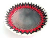 Mud Fruit Bowl - Red Target