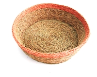 Round Bread Basket - Blush