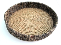 Weave Tray/Basket - Burnt Earth