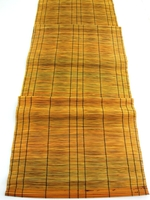 Handwoven Table Runner - Mustard