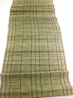 Handwoven Table Runner - Smoke