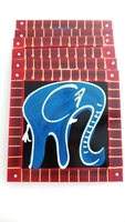 Placemats - Set of 6 - Elephant Blues