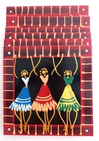 Placemats - Set of 6 - African Ladies Dancing Multi Color