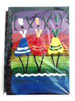 Large African Notebook - African Ladies Dancing