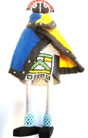 Ndebele Maiden Doll #008