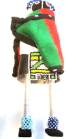 Ndebele Maiden Doll #009
