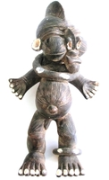 Fang Clay Statue from Gabon