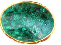 Malachite Bowl from Congo #004