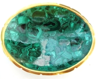 Malachite Bowl from Congo #003