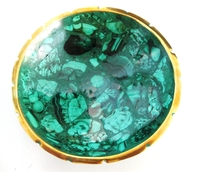 Malachite Bowl from Congo #002