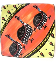 "Side Plate(1) - Square - 6"" x 6"""