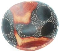 African Rosewood Bowl from Zimbabwe #007