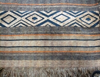 "Woven Throw Tshwana Teak - 59"" x 66"""