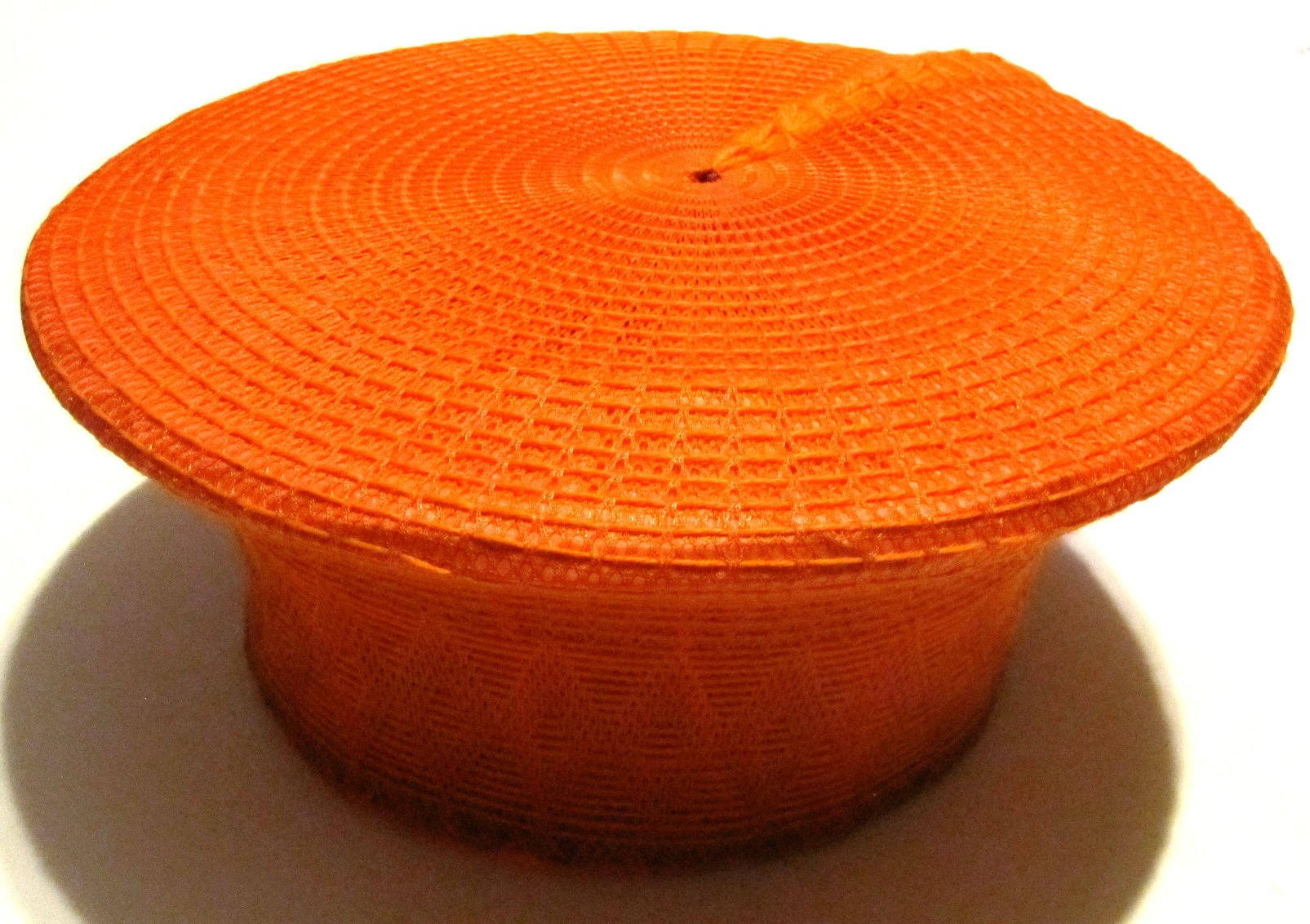Traditional Zulu Hat - Orange