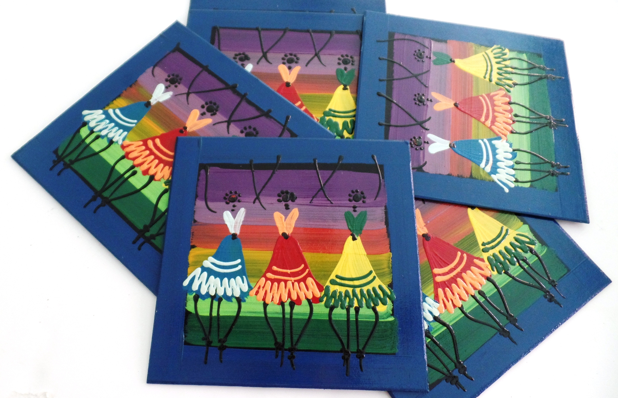 Handmade Placemats - Set of 6