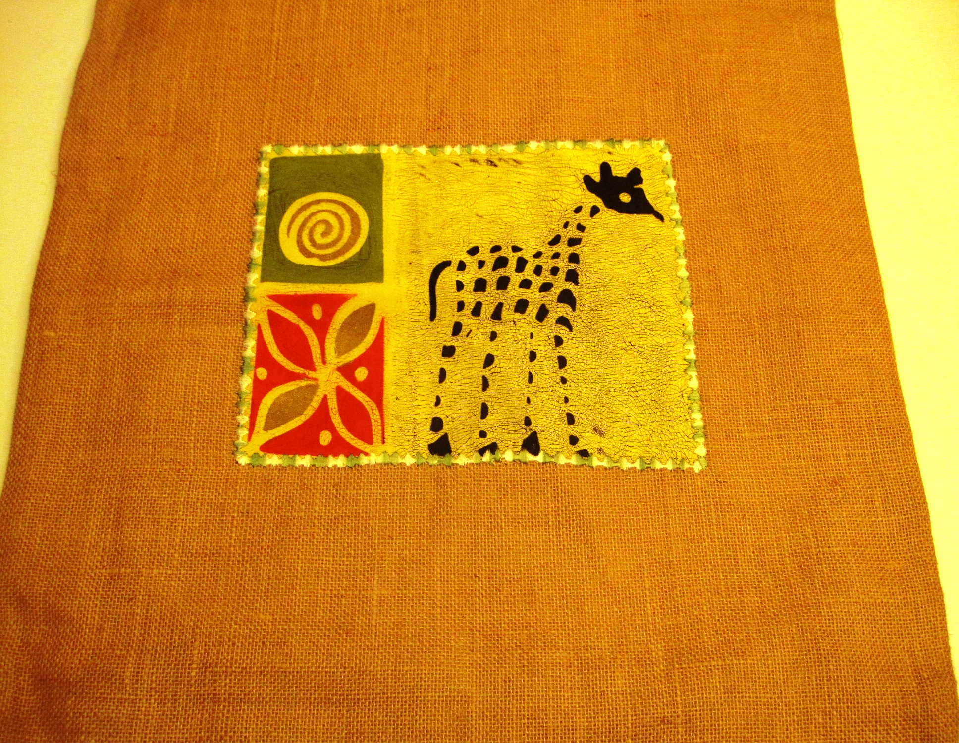 Regional African Cushion Cover #23L