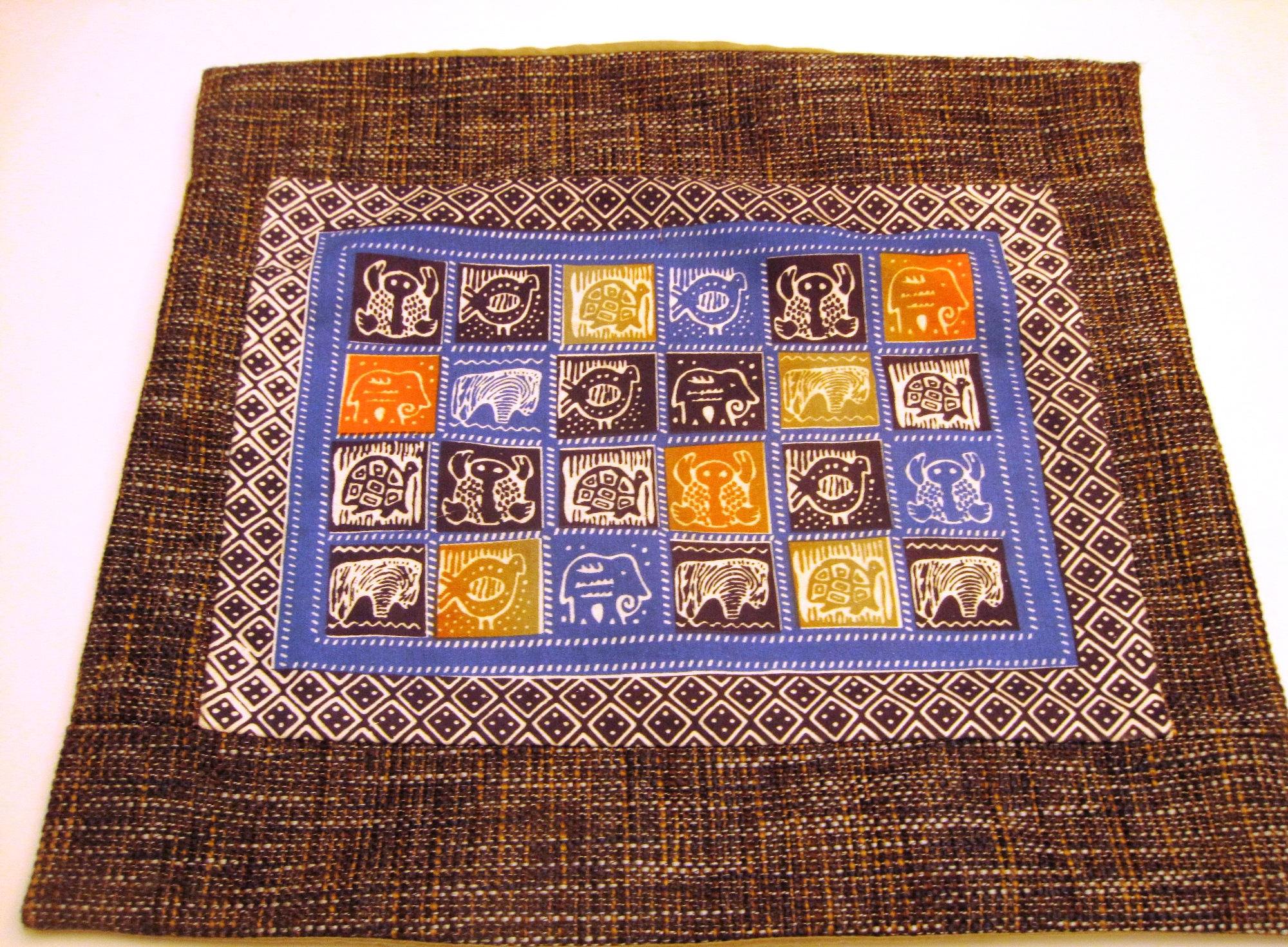 Regional African Cushion Cover #11