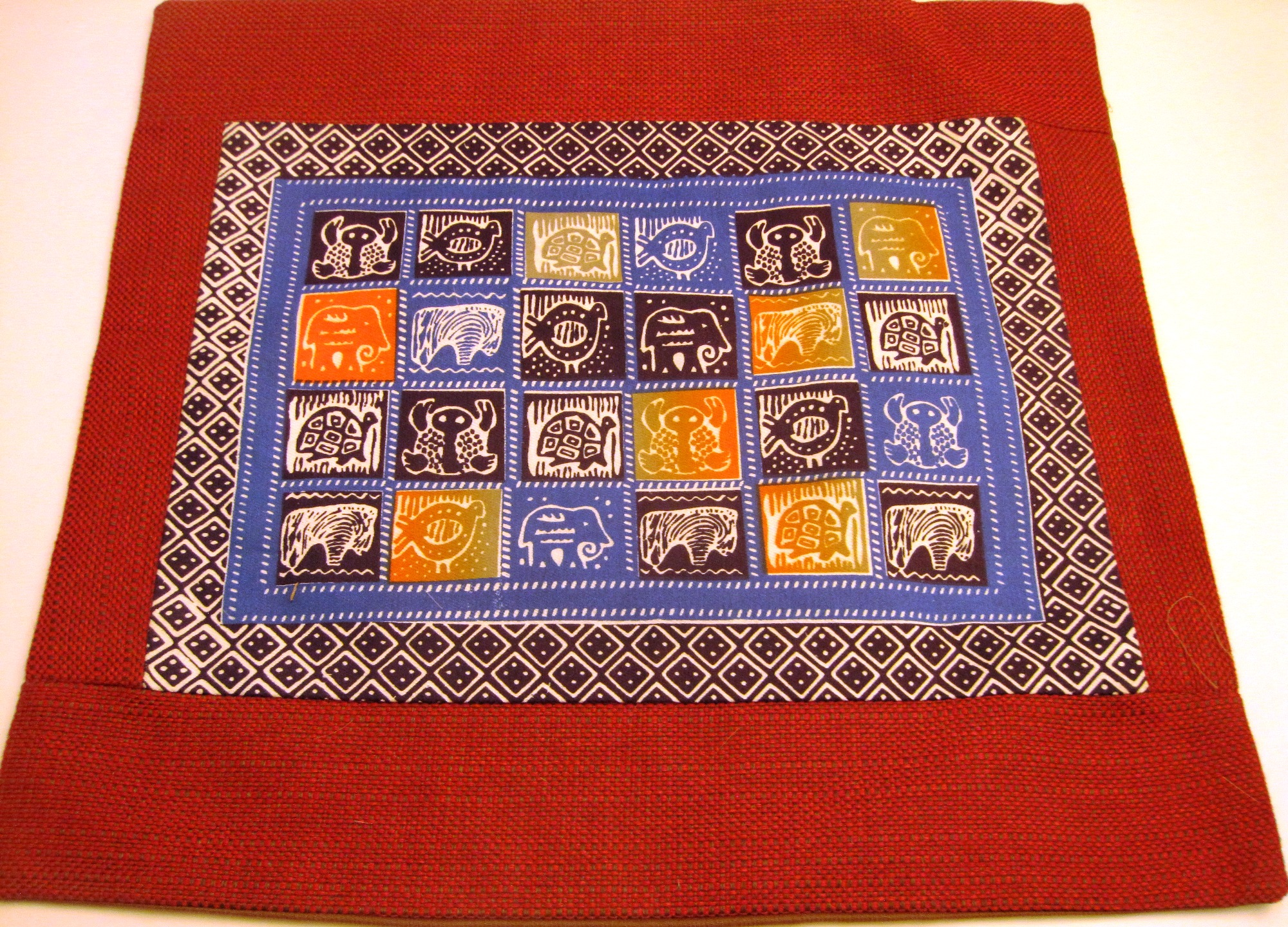 Regional African Cushion Cover #12