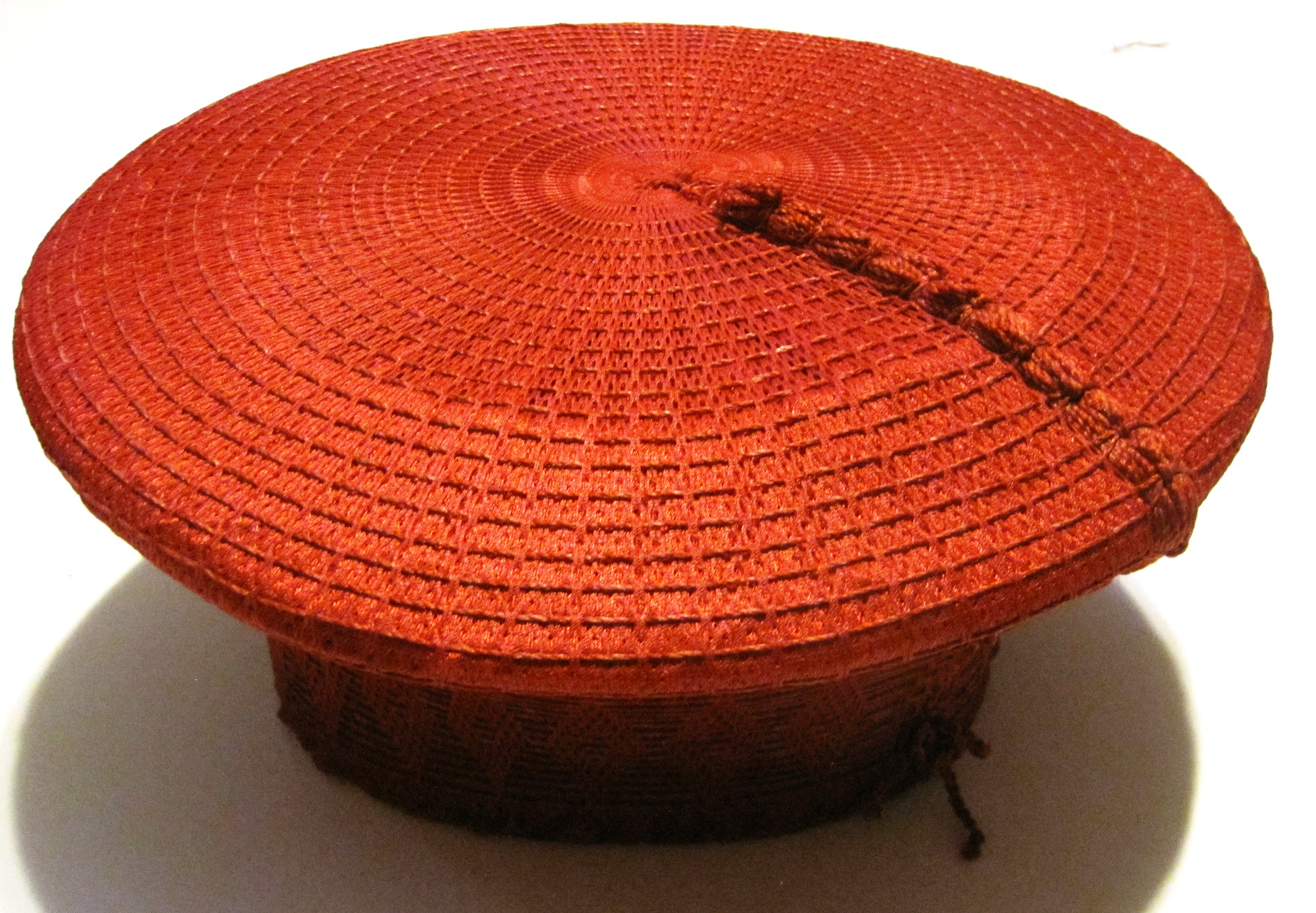 Traditional Zulu Hat - Red