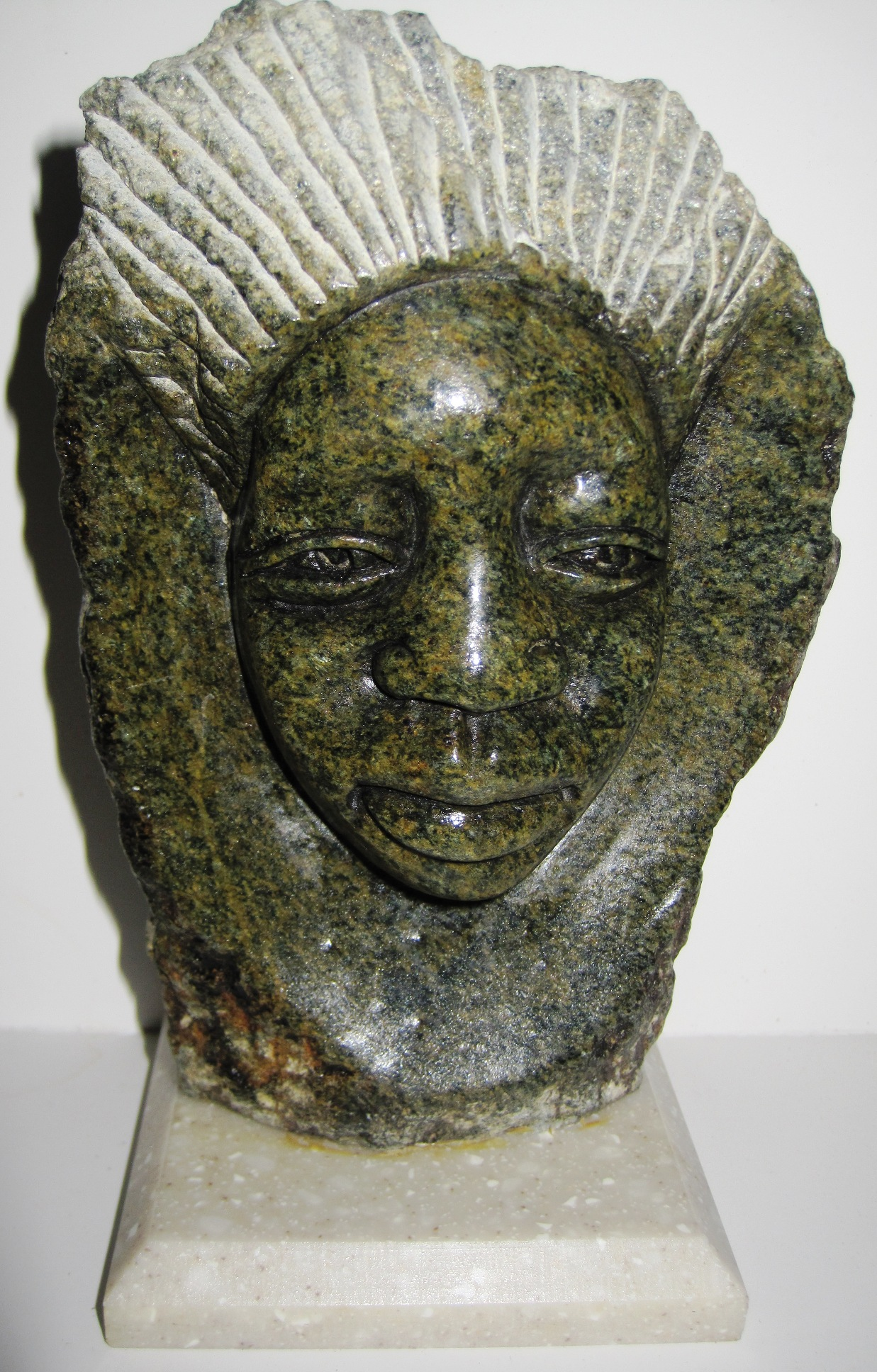 Shona Bust Carving