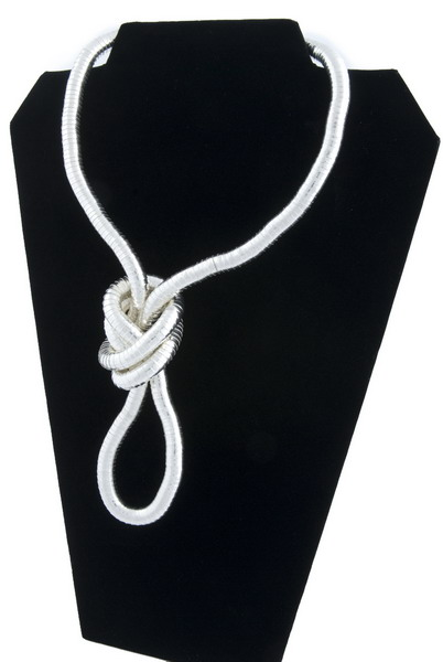Snake Chain Necklace- Silver