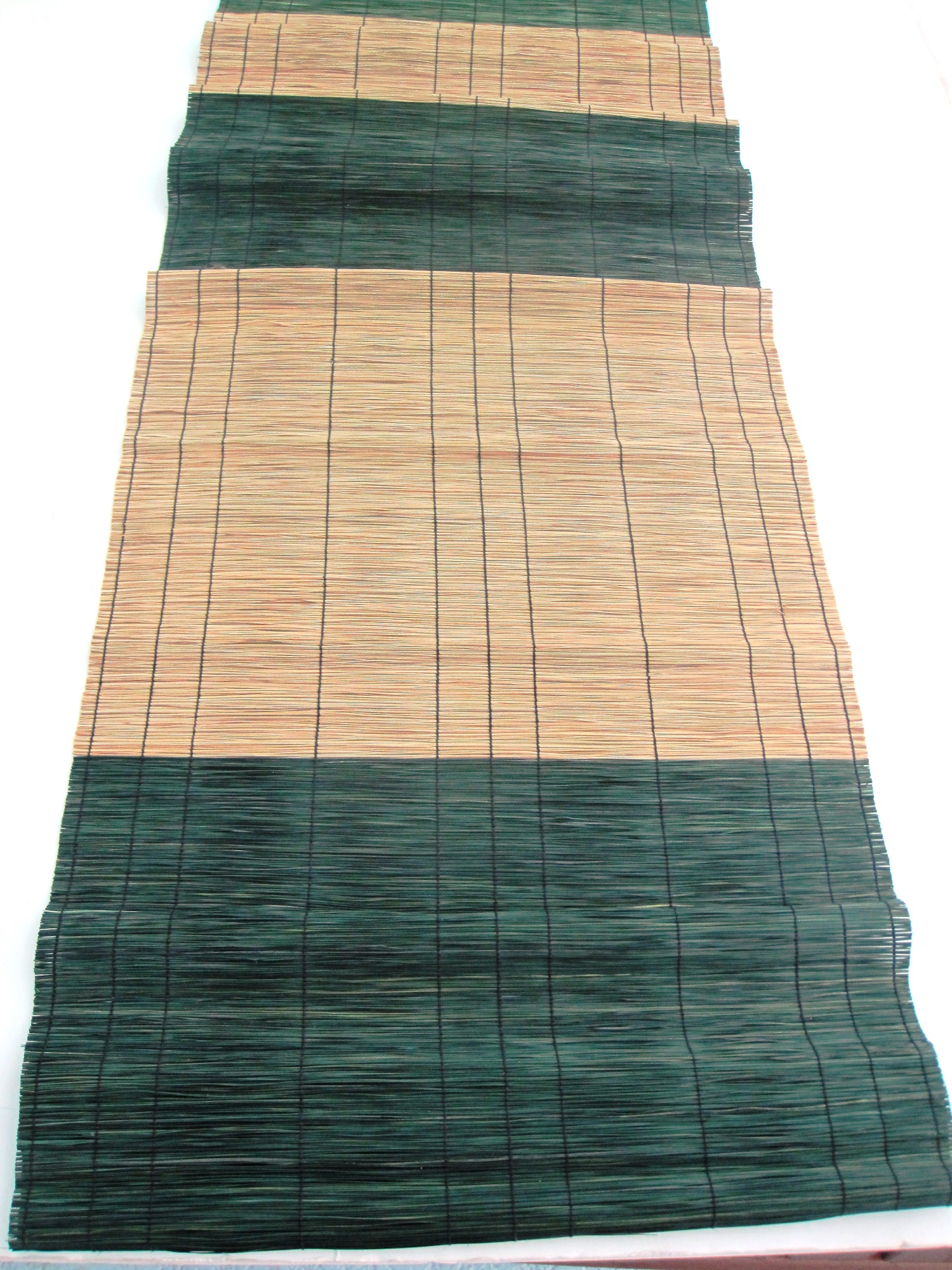 Handwoven Table Runner - Basket of Chocolate