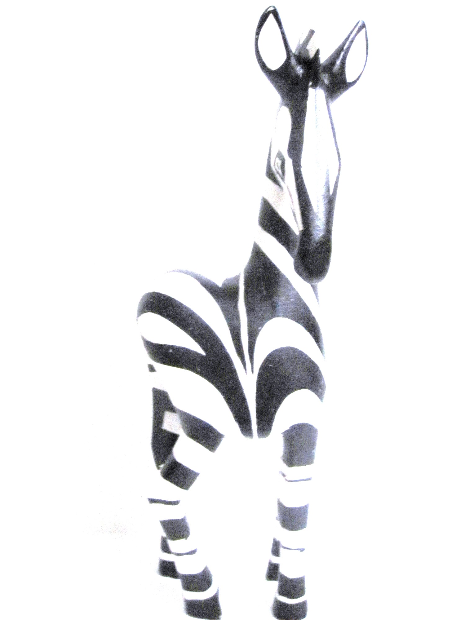 Handcrafted Zebra Carving from Zimbabwe - Large