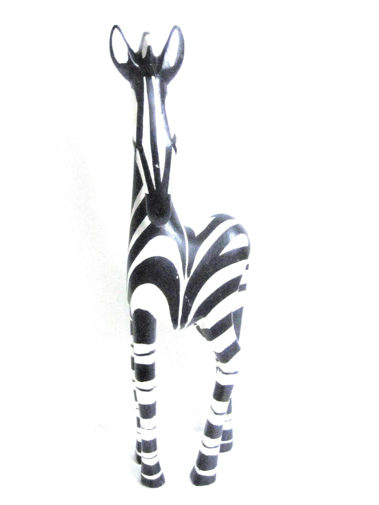 Handcrafted Zebra Carving from Zimbabwe - X Large